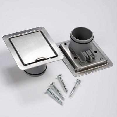 Spezielle Metallsaugdosen für Zentralstaubsauganlagen, hergestellt aus rostfreiem Edelstahl.