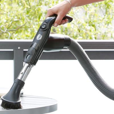 Cleanformat Ergo Saugschlauch mit Abknickschutz und 35mm Innendurchmesser für verstärkte Reinigungsleistung.