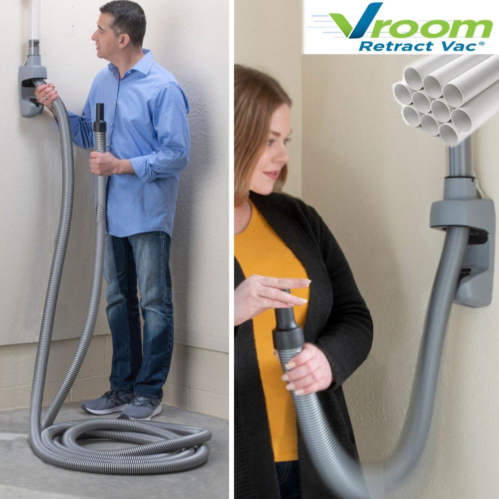 Vroom Retract Vac - Einzugsschlauch mit Rohrsystem