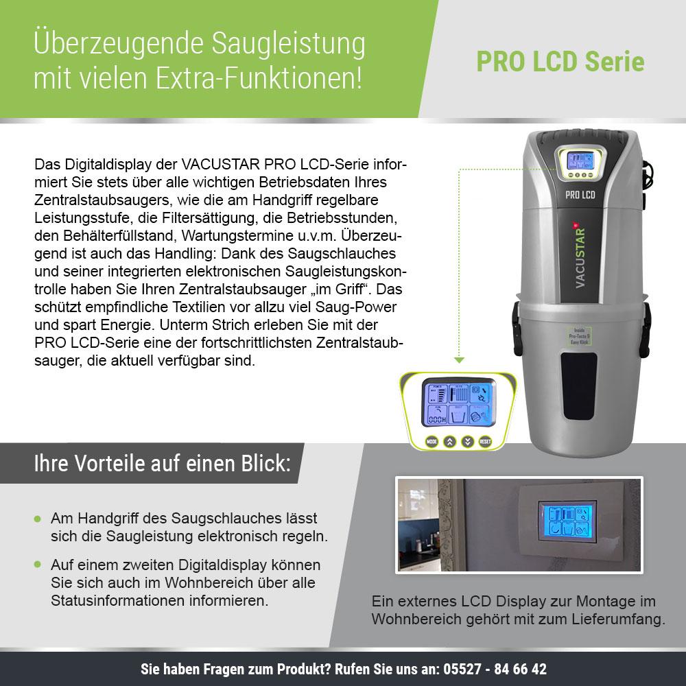 Komplettierung PRO-LCD 835