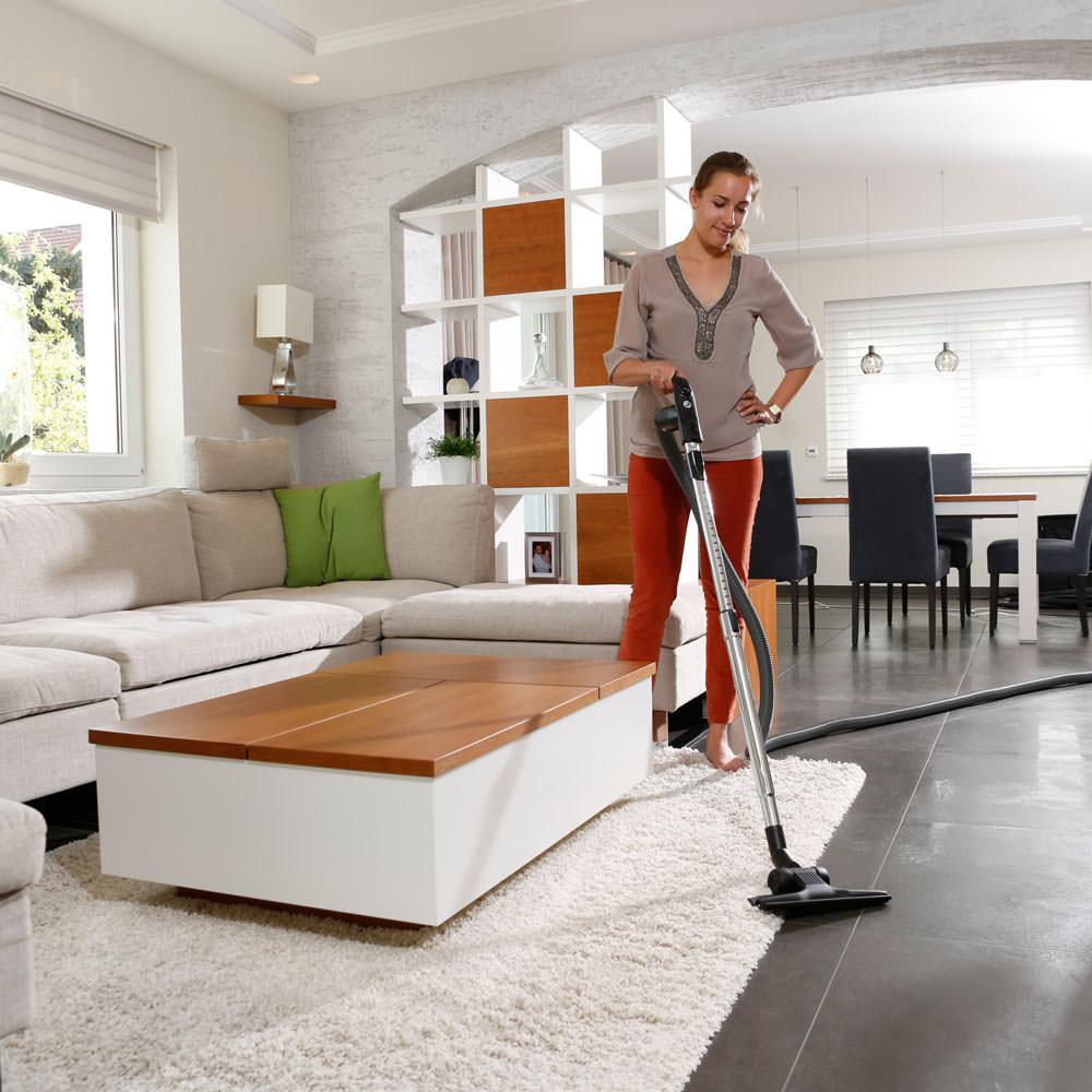 Automatikbürste - Für Teppiche, Laminat oder Fliesen