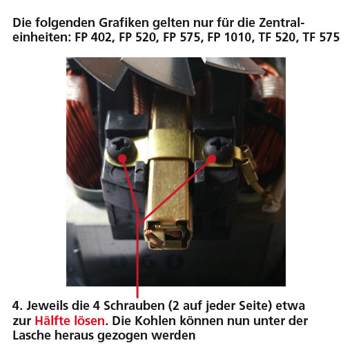 Motorkohlen (Kontaktkohlen)